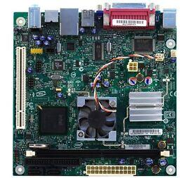 Intel Motherboard D945GCLF2, Full Windows 10 installation, industrial case, Wifi, Hard Disk