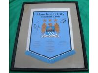 Manchester City Football Club Memorabilia - various items (see description)