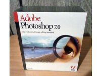 NEW Adobe Photoshop 7.0 Software for Windows