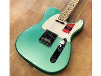 Fender Professional Telecaster 2017 (As new) Mystic seafoam green electric guitar