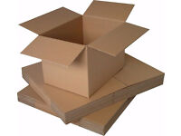 Pallets of 1000 small cardboard boxes - 7 sizes