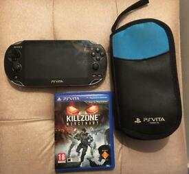 PS Vita WiFi Edition with 9 games
