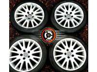 """##CHEAP## 17"""" Genuine Audi alloys Caddy Golf etc 5x112 good condition with tyres."""