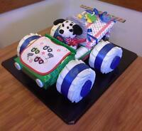 RACE CAR BABY GIFT SET