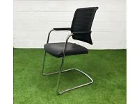 Interstuhl black mesh back meeting chair cheap office furniture Essex harlow lonodn