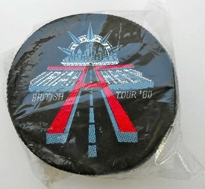 Vintage authentic URIAH HEEP 1980 British Tour patch MINT!!!