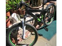 Diamond Back Mountain Bike 21 speed, Black Front Suspension