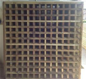 🌳Tanalised Trellis Wooden Garden Fence Panels - Various Sizes🌲