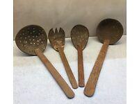 Coconut utensils