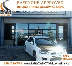 2008 Mitsubishi LANCER EVOLUTION MR*EVERYONE APPROVED* APPLY NOW