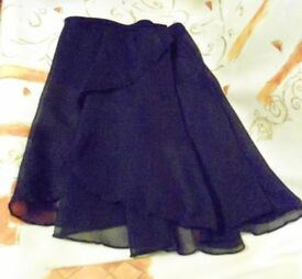 1st Position Dance Skirt. Raspberry or Black. Age 14-18yrs