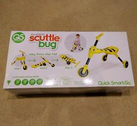 Scuttlebug Bumblebee (Yellow and Black) Like new in box