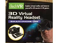 3D vertical reality headset