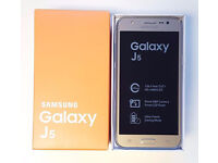 Samsung Galaxy J5 in Box with all the Accessories SIM FREE UNLOCKED