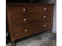 Vintage pine drawers