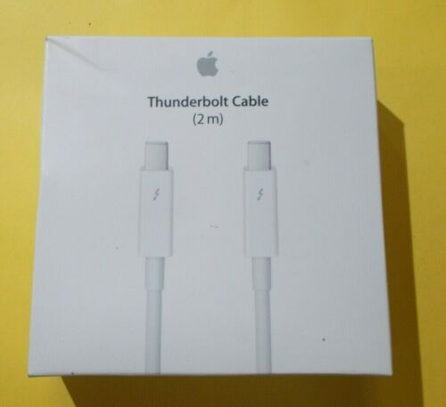 Genuine Apple Thunderbolt to Thunderbolt Cable A1410 (2.0 m) - White MD861ZM/A