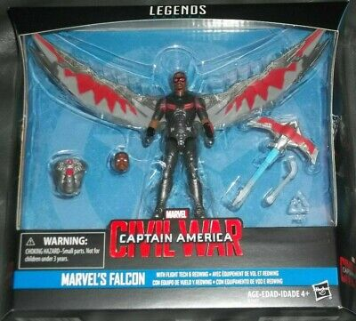 Marvel Legends Falcon Captain America CIVIL WAR Toy FIGURE NEW MIB FAST SHIPPING