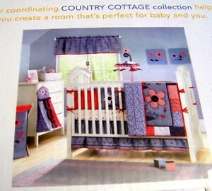 bananafish country cottage nursery mobile or diaper stacker or valance
