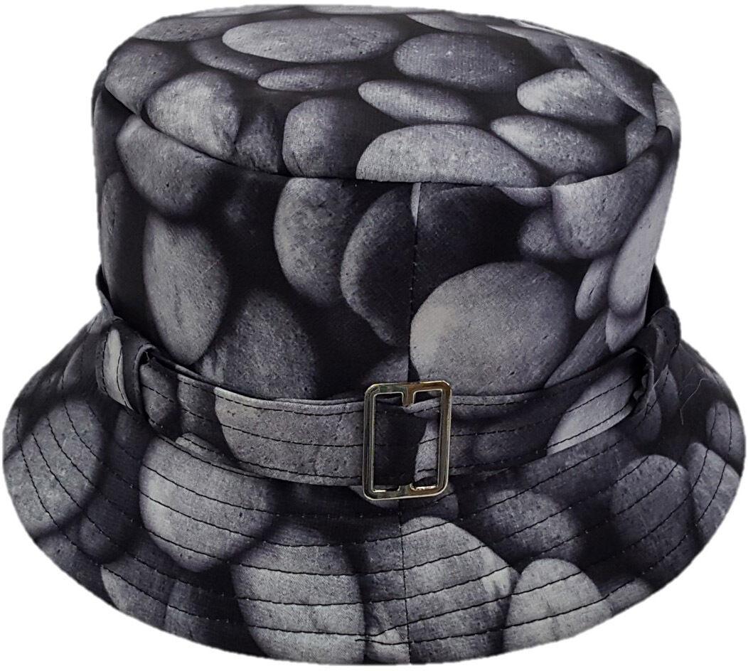 Women's Rain Protective Waterproof Hat Packable Adjustable B