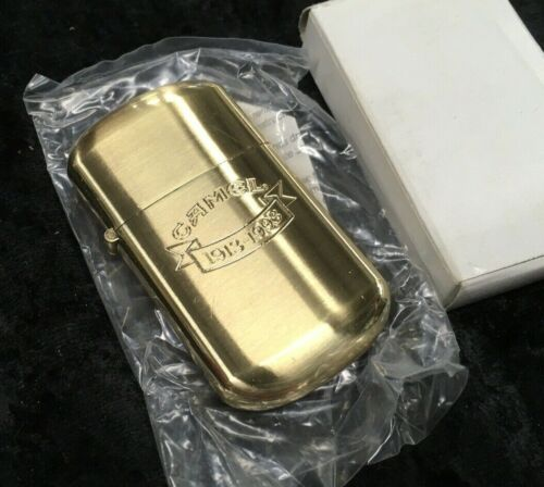 CAMEL 80th ANNIVERSARY 1913-1993 GOLD TONE LIGHTER - New in Box