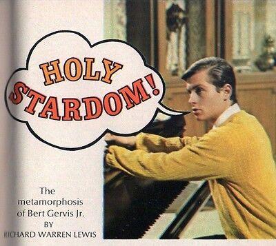 1967 Tv Guide Article~BATMAN & ROBIN~BOY WONDER~BURT WARD~SUPERHERO~HOLY STARDOM