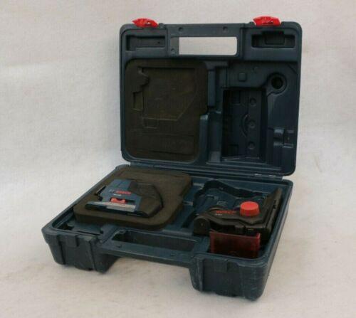 Bosch GLL3-80 Red Self-Leveling 3-Plane Laser Level + WM1 Bracket + Case