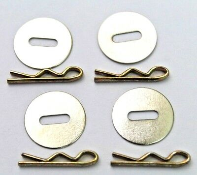 US 5/8 washers and milspec 3/4in toggles for uniform jackets 4+4 lot of 8 R9666