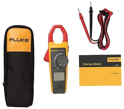 Fluke 373 True-rms Trms Current Clamp Meter 600a Ac 600v Acdc