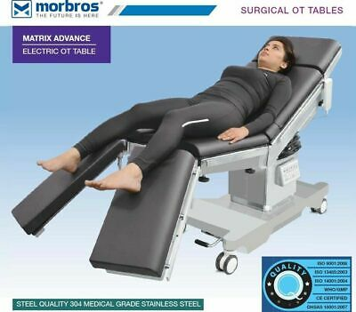 Advance Electric Operation Table Operating Table Sliding Top Split Leg Section
