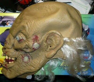 Crypt Keeper Halloween Mask Tales From The Crypt China 1993 rubber mask   - Tales From The Crypt Mask