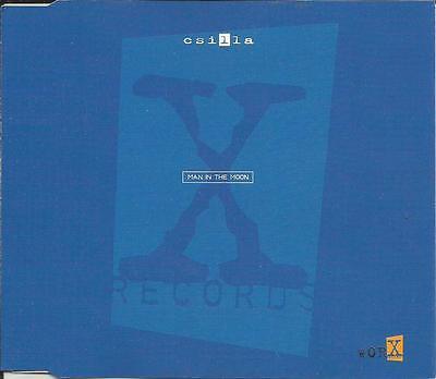 CSILLA w/ ROBERT MILES Man in the Moon 5TRX EDITS & REMIXES CD single SEALED