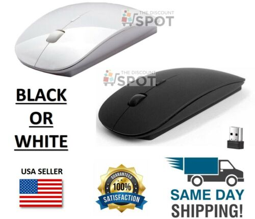 2.4GHz USB Wireless Optical Mouse Mice for Apple Mac Macbook Pro Air PC