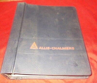 Allis Chalmers 12g Crawler Loader Set Of 8 Service Manuals W Binder