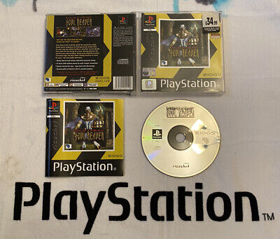 Legacy Of Kain Soul Reaver PS1 PS2 PS3 Sony Playstation 1 Complete UK PAL