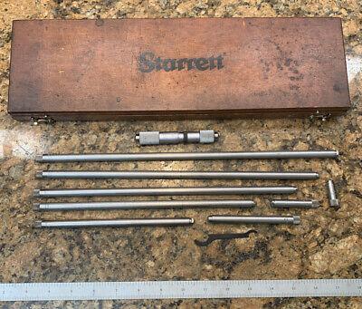 Starrett 823e Tubular Inside Micrometer Sets-measuring Range 4-32 J305