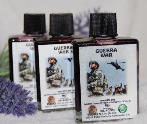 War Oil (1) 4DRMs, Destroy Your Enemies, Black Destroyer Santeria, Hoodoo, Wicca