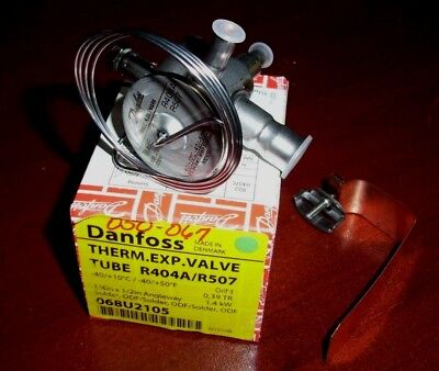 Danfoss 068u2105 Tubtube Stainless Steel Thermostatic Expansion Valve New