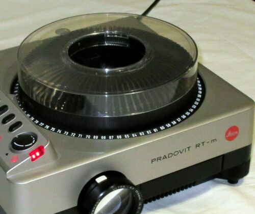 Slide 35mm cassette carousel magazine for LEICA PRADOVIT RT-m RTM 80 capacity