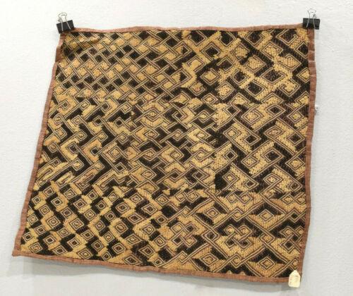 African Kuba Cloth African Natural Woven Raffia