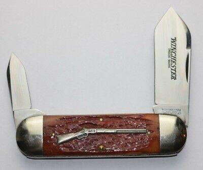 WINCHESTER SUNFISH KNIFE - JIGGED BONE - 29110 1/2 - RIFLE SERIES - NIB