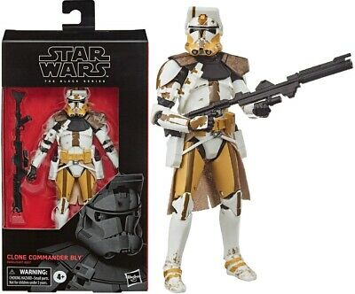 Star Wars The Clone Wars Black Series 6 Inch Action Figure - Commander Bly -NEW!