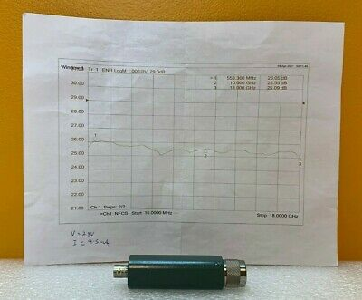 Microwave Semiconductor Corp Msc Mc65225 10 Mhz To 18 Ghz Noise Source. New