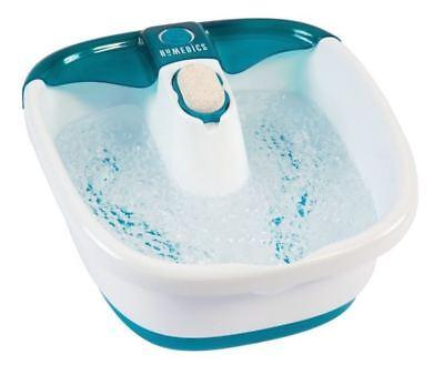 Homedics Bubble Spa Foot Bath (Foot Spa Bath Massager Bubble Massage Heat Soaker Soak Tub Pedicure Portable Set )