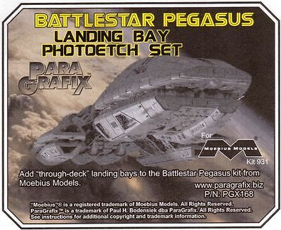 Battlestar Pegasus Landing Bay Photoetch Set / Galactica Paragrafix PGX168