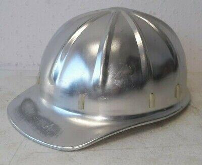 Vintage Apex Aluminum Hard Hat With Liner - Great Shape