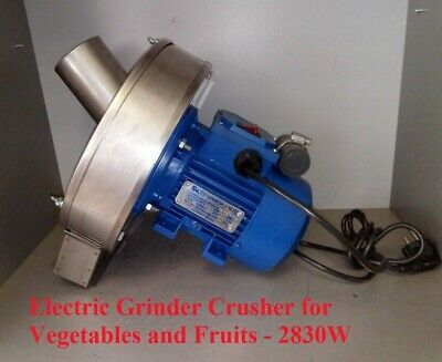 Feed Milling Machine Elikor Electric Grinder Crusher For Vegetables And Fruits
