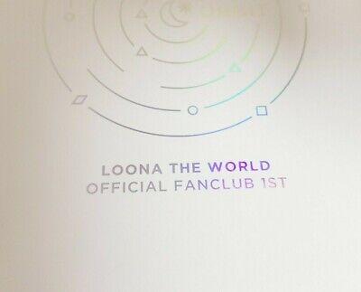 """K-POP MONTHLY GIRL LOONA Official FULL SET - Official """"Orbit Kit 1.0"""""""
