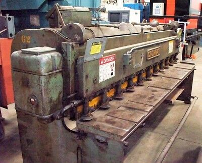 9993 Cincinnati 10 X 10ga Mechanical Shear