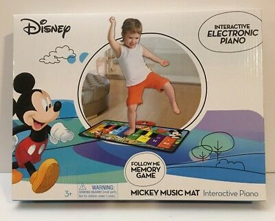 Disney Mickey Mouse Music Mat Interactive Floor Piano Electronic Toy](Mickey Music Mat)