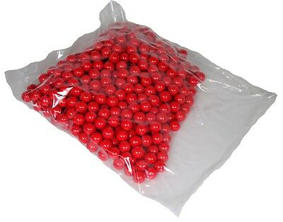 Shop4Paintball - BLOOD BALL - .68 Caliber Paintballs - Red/Red - Bag of 1000